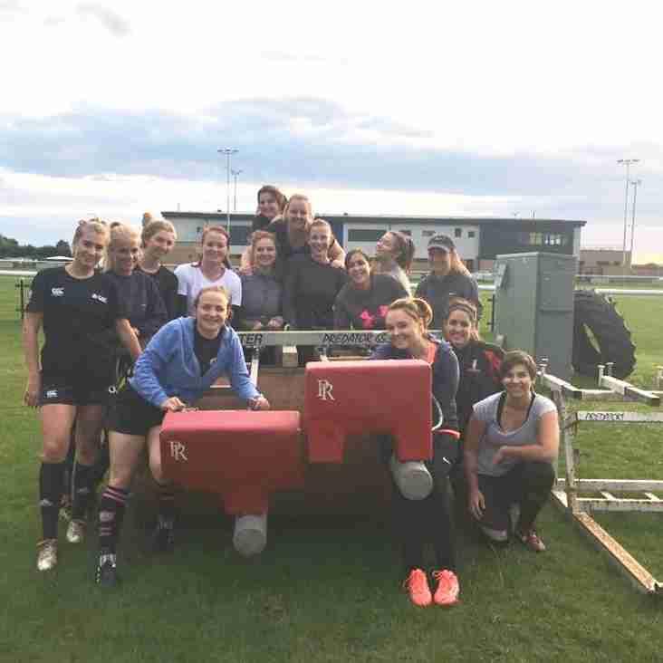 Melksham Ladies first ever home game