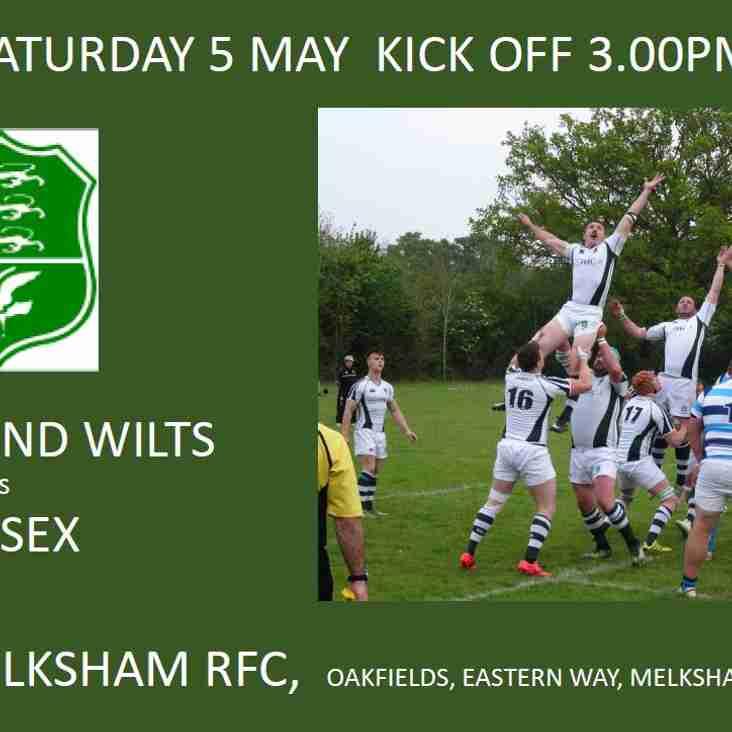 Melksham Host County Game