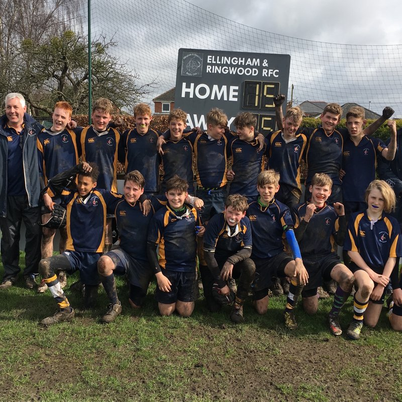 U14s Power their way to Victory in Hampshire Vase Final