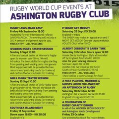 Rugby World Cup at ARFC