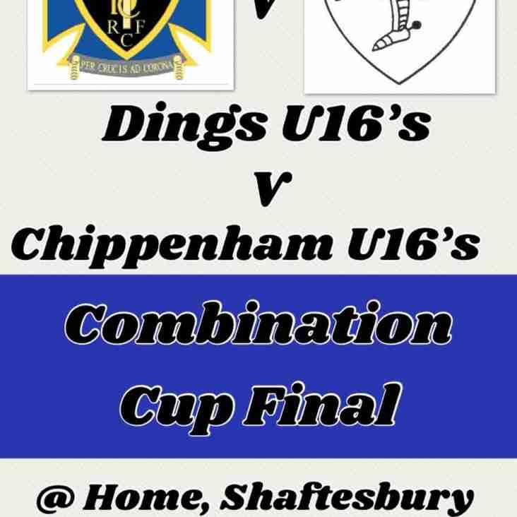 U16s Combination Cup Final