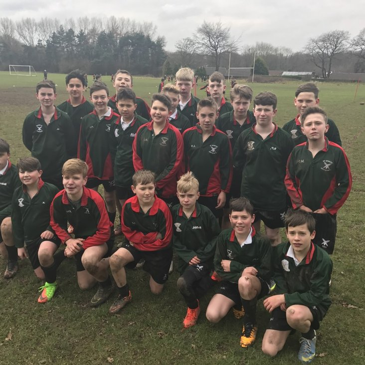 YEAR 8 INTER-HOUSE RUGBY<