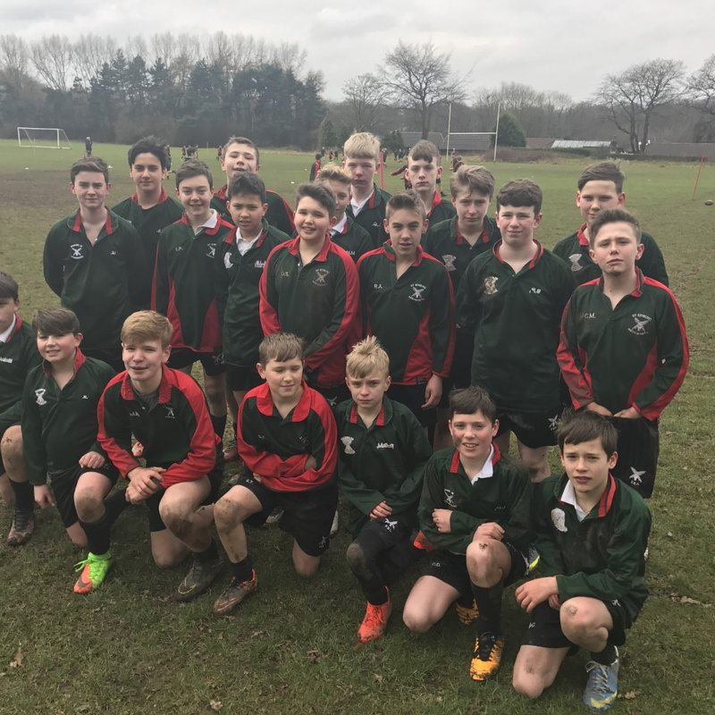 YEAR 8 INTER-HOUSE RUGBY