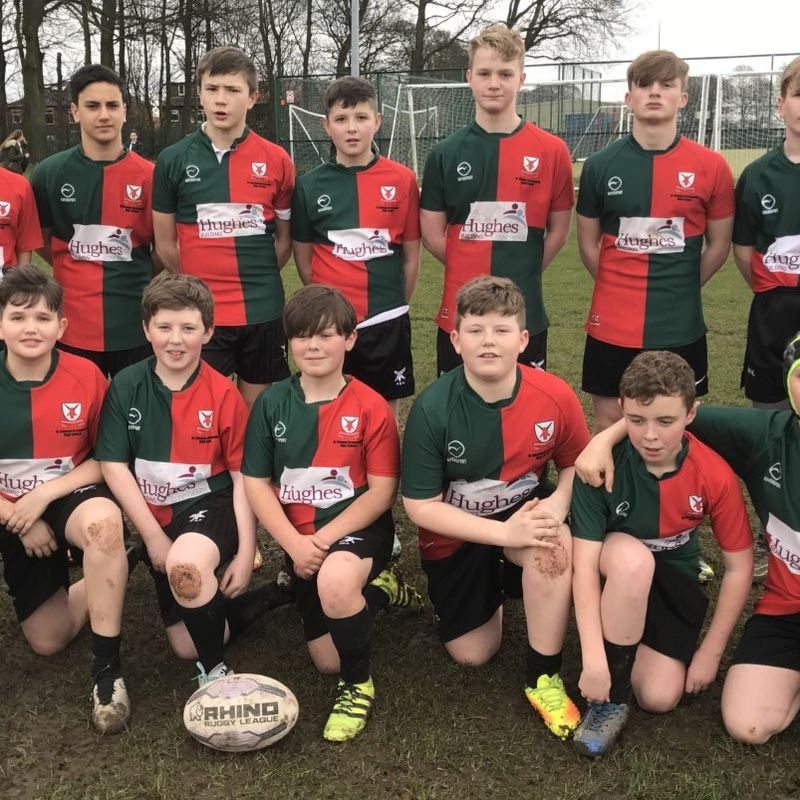 Year 8 beat Cansfield Y8 20 - 8