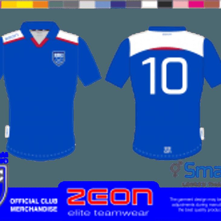 COMING SOON - New club kit