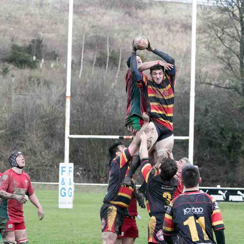 Barbarians V Keighley 2nd's 2015.