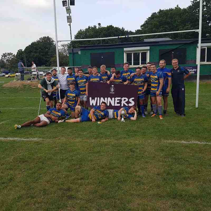EGHAM RFC TOURNEMENT 27 AUGUST 2016 - FINAL CHIPS v OLD RUTS