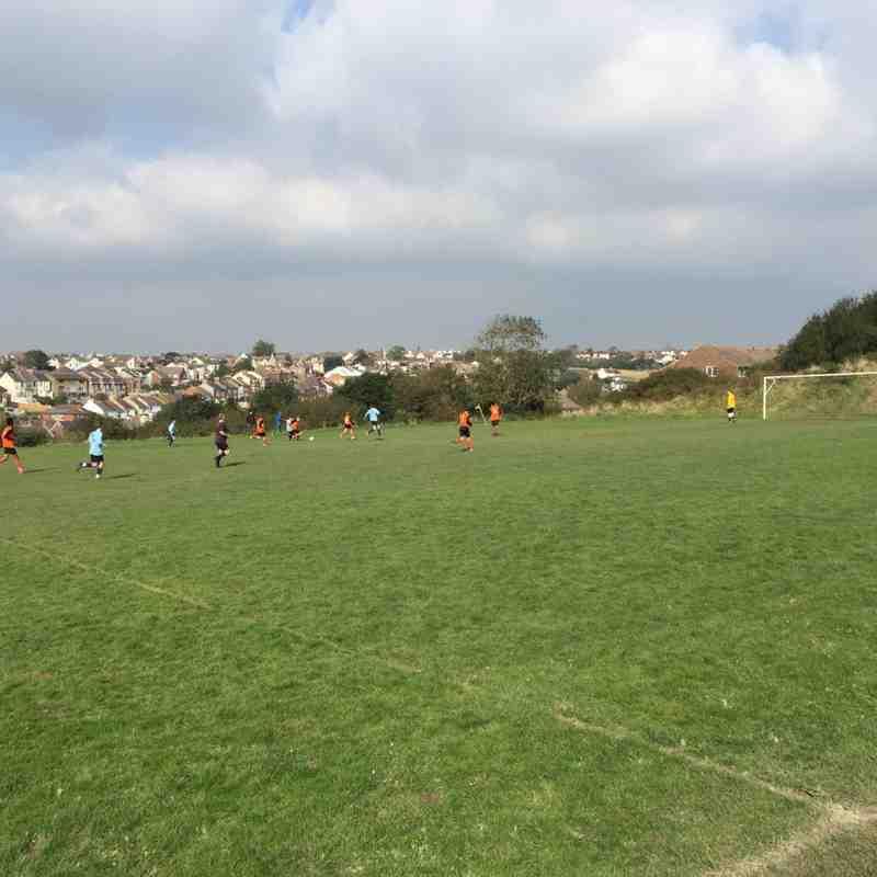 U16Y Junior Club Tackleway Sussex Cup 2nd Round won 1-0 aet