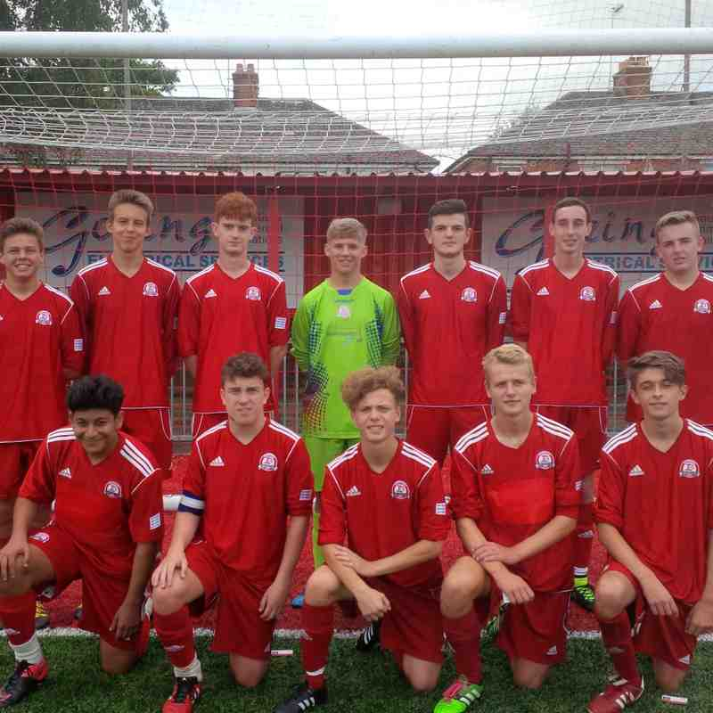 U17s Youth v Hassocks Juniors - Sun 18 Sep 2016