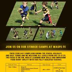 Summer Stinger Camps 8th - 11th August 10.00am - 3.00pm