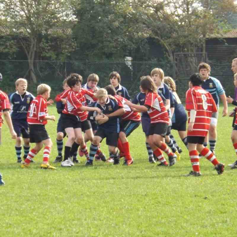 U13s Corsham match 7th Oct 2012