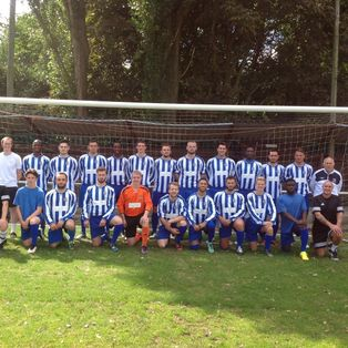 The Brook draw away at North Greenford United