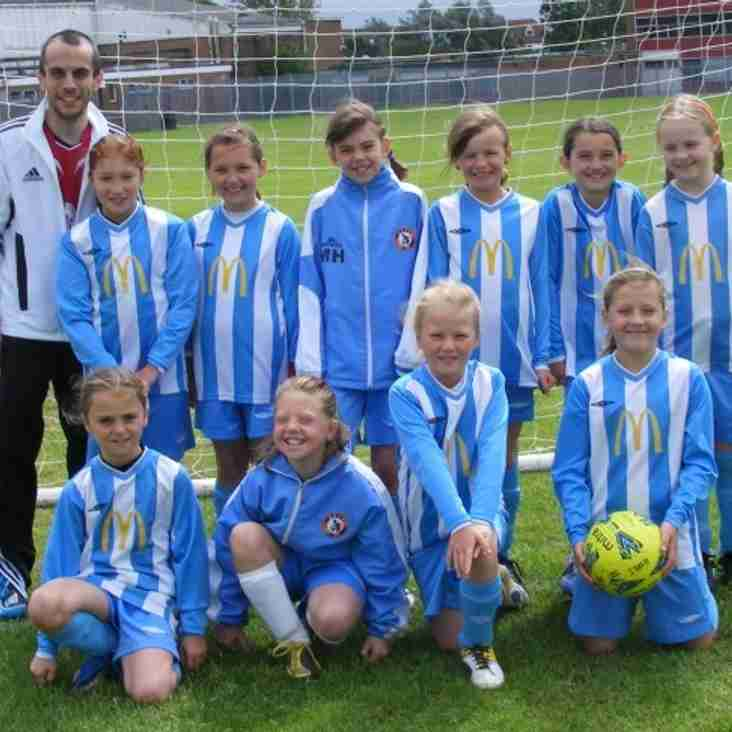 VOTE for BSYFC U10s Girls Team in the Bradley Stoke Radio Sporting Achievement Awards