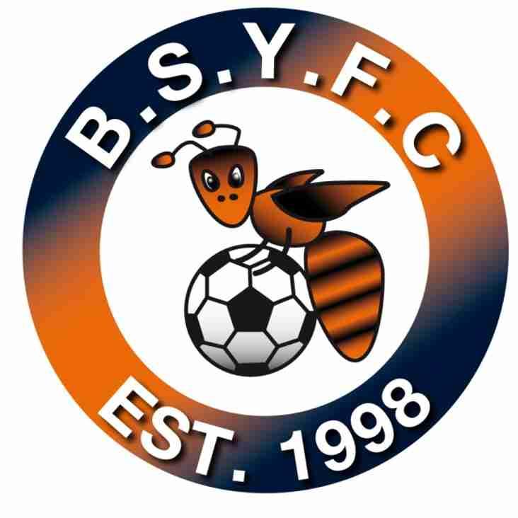 BSYFC win GFA FA Charter Standard Community Club of the Year 2013