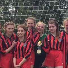 Brightlingsea Regent Girls U15's - League Division Champions 2015/16