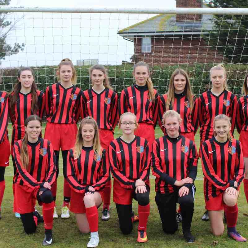 Brightlingsea Regent Ladies U18's