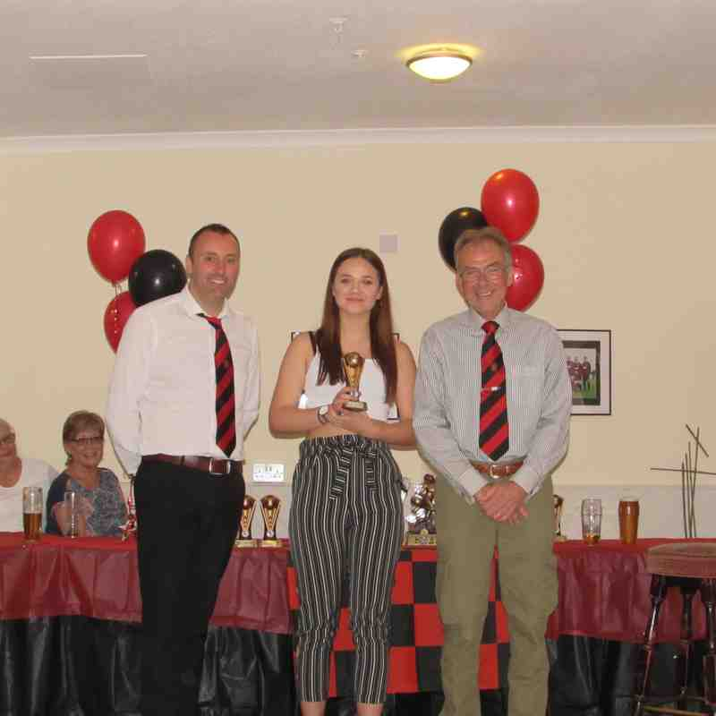 Brightlingsea Regent Ladies U18 - Awards Day