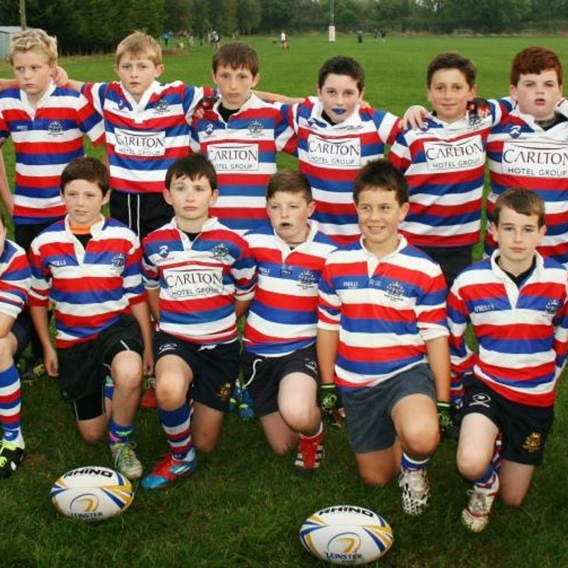 North Kildare Under 12's played a powerful match against Athy RFC.