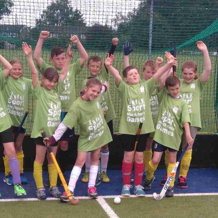 """Letchworth & Baldock"" share 1st place at North Herts Games"