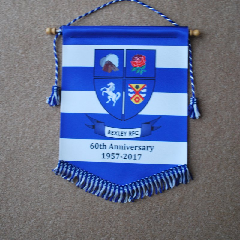 60th Anniversary Pennants - Order Now!