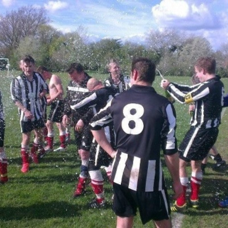 1st Team beat Great Linford 2 - 3