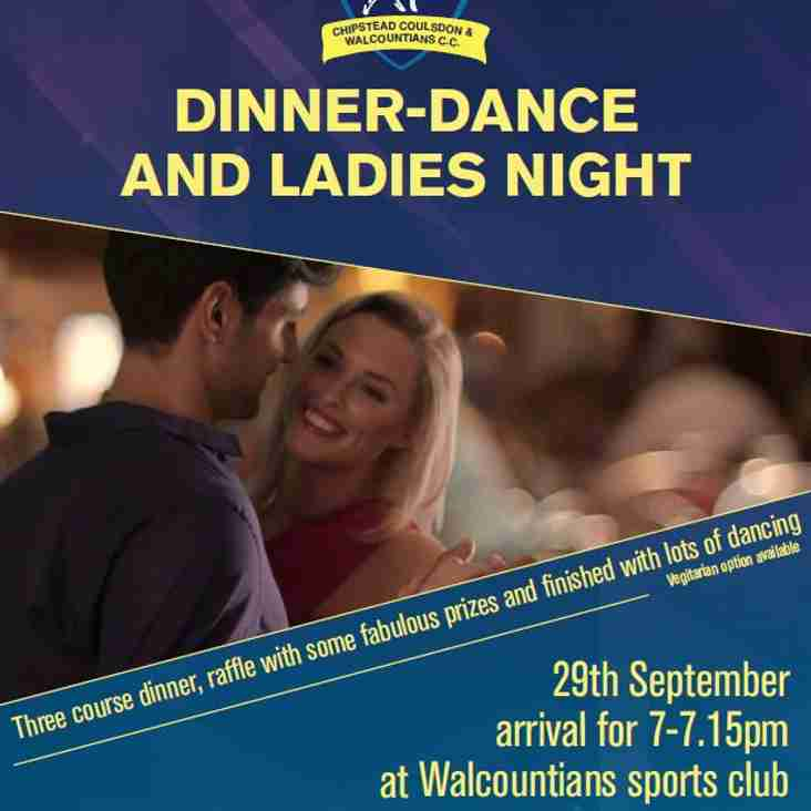Dinner Dance and Ladies Night at Walcountians Sports Club
