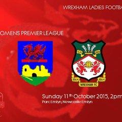 v Newcastle Emlyn (a) Welsh Premier League 11/10/2015