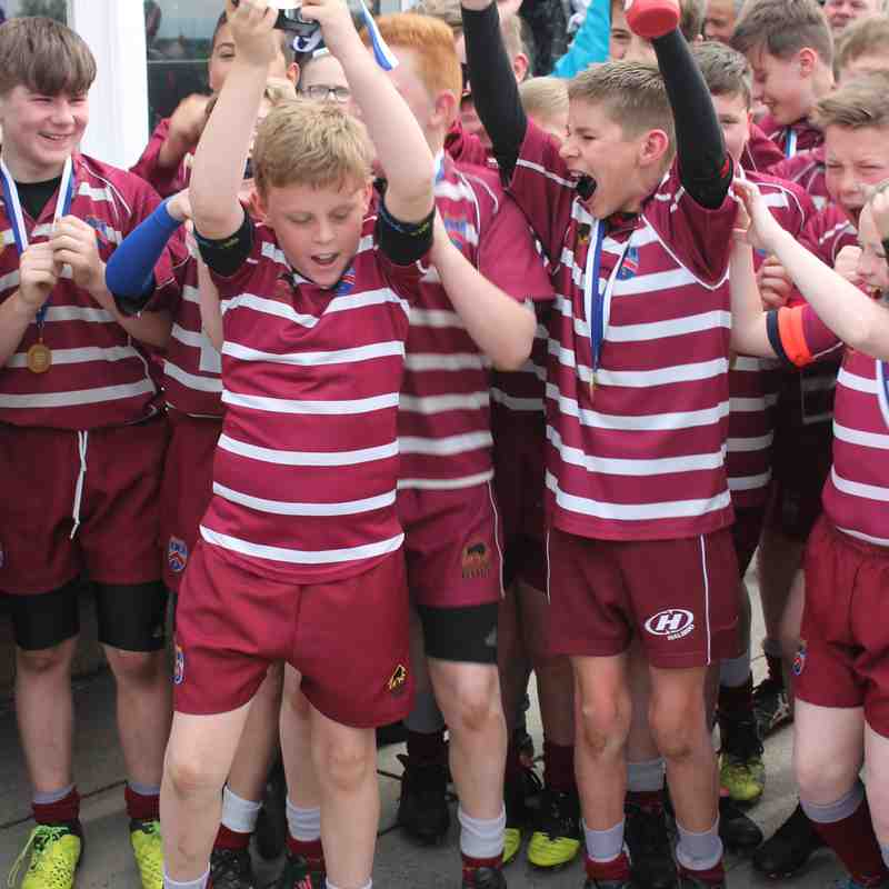 U12's Cheshire Plate Winners 2017