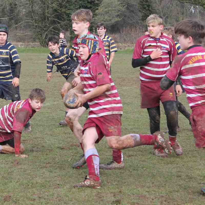 Wirral U13's vs St Anselms 3/18