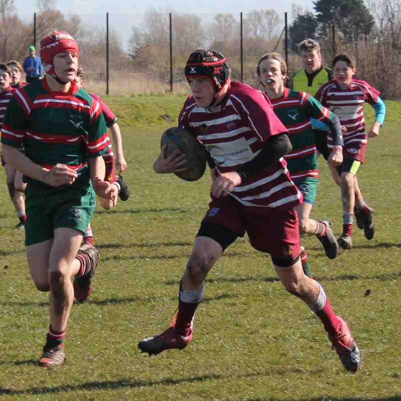 Hoylake vs. Wirral U15's 25/3/18