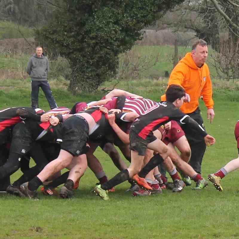 Wirral U13's vs Western Vikings IOM 15/4/18
