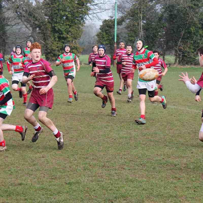Wirral U14's vs. Warrington  24/02/19