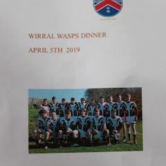 Wirral U16's Dinner - 05/04/2019
