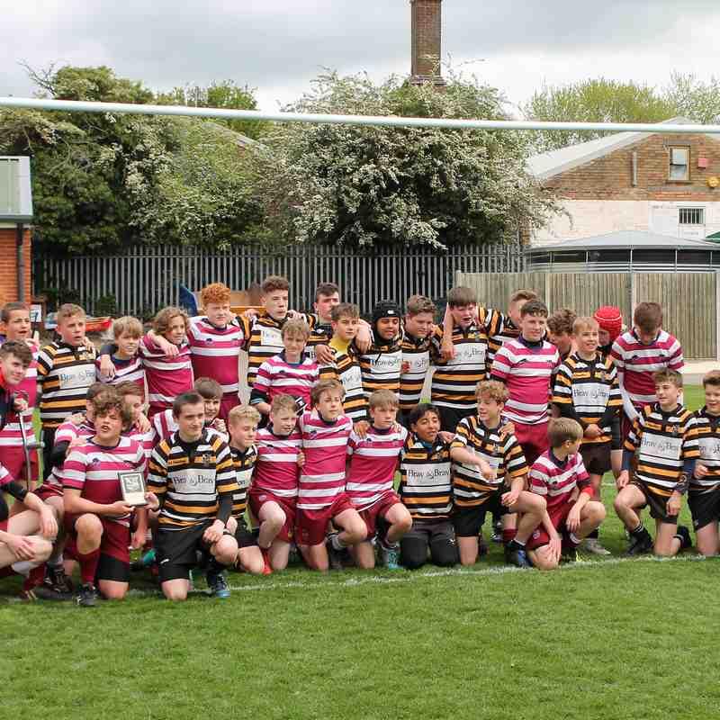 Wirral U14's Tour vs Oadby Wyggestonians 2019