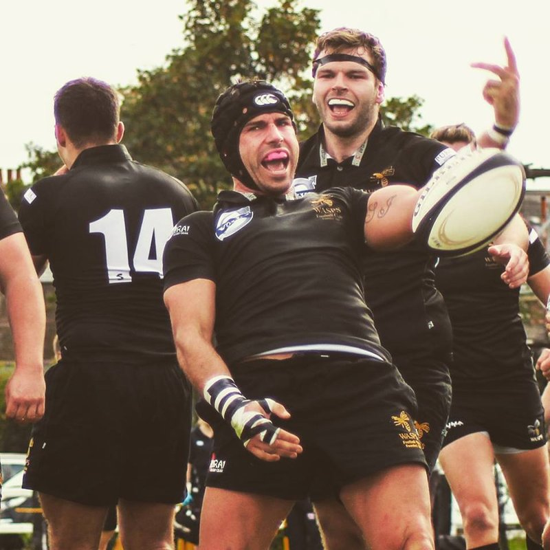 Wasps FC Men beat Staines RFC