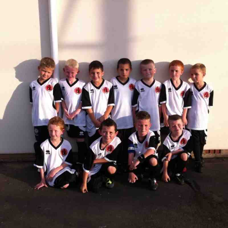 Under 8's training kit