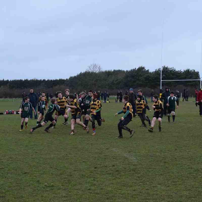 LR Cup U12 Semi Final v North Walsham