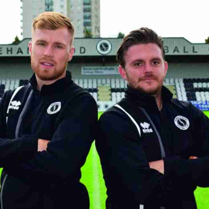 Boreham Wood Duo are Pitch Perfect!