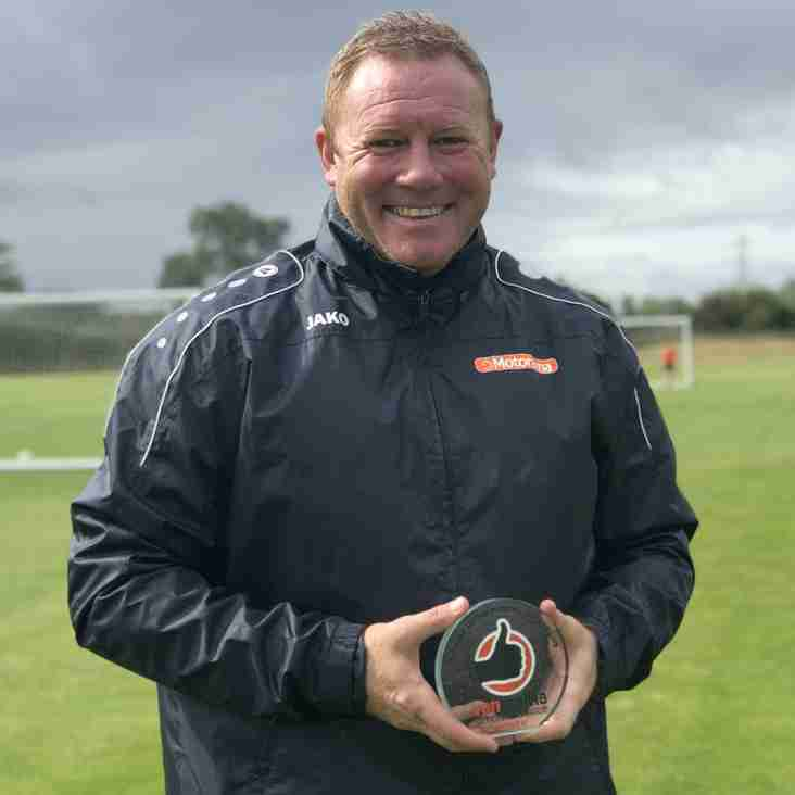 Watson Scoops Manager of the Month prize for National League North