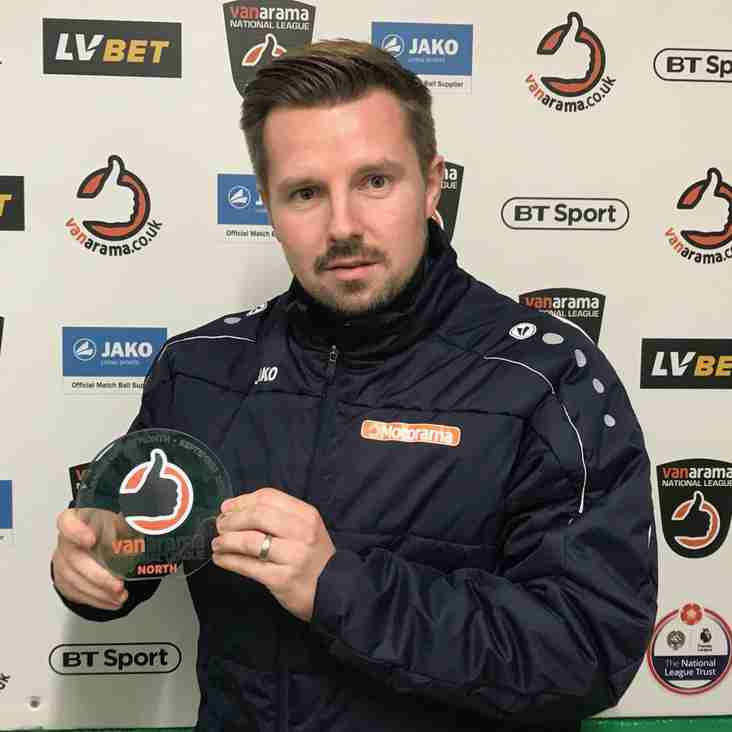Farsley Flying as Lakeland earns North's Manager of the Month Accolade
