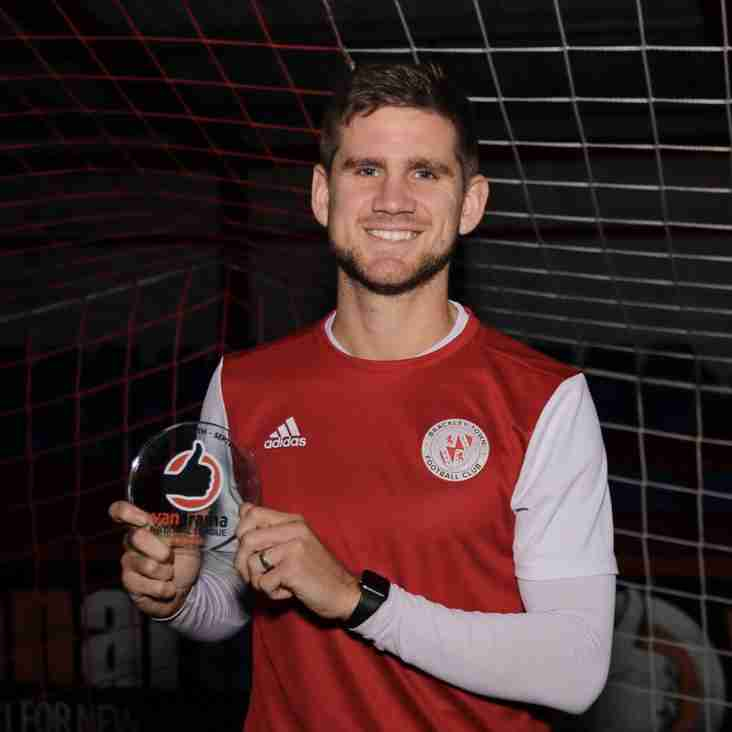 Armson gets his hands on Player of the Month Gong