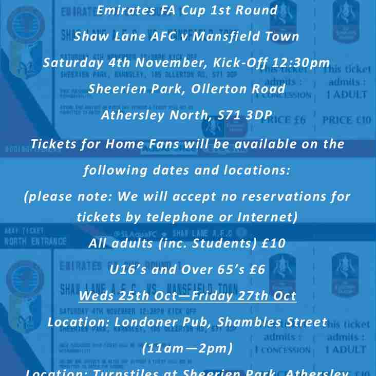 Emirates FA Cup Tickets on Sale this Week