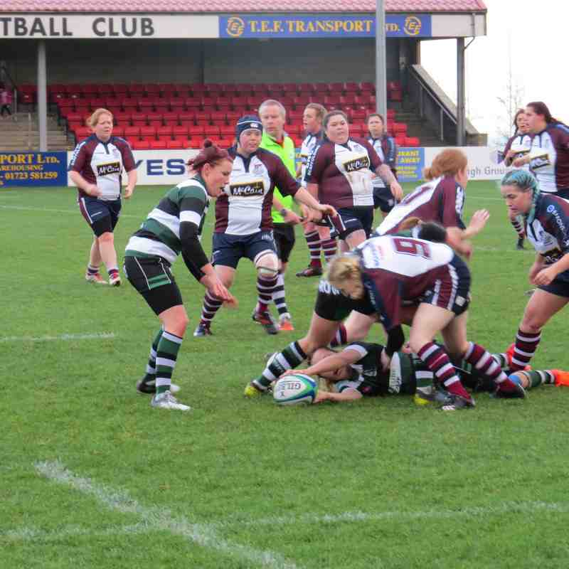 York RUFC Women Vs Scarborough 02.12.18