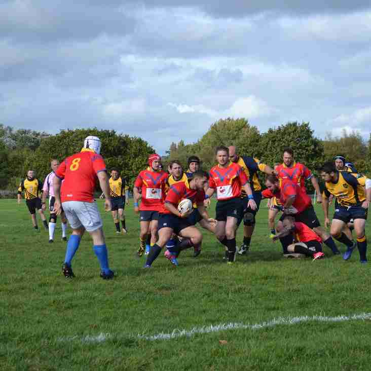 East Dorset vs Wheatsheaf Cabin Crew, Senior Plate Quarter Final