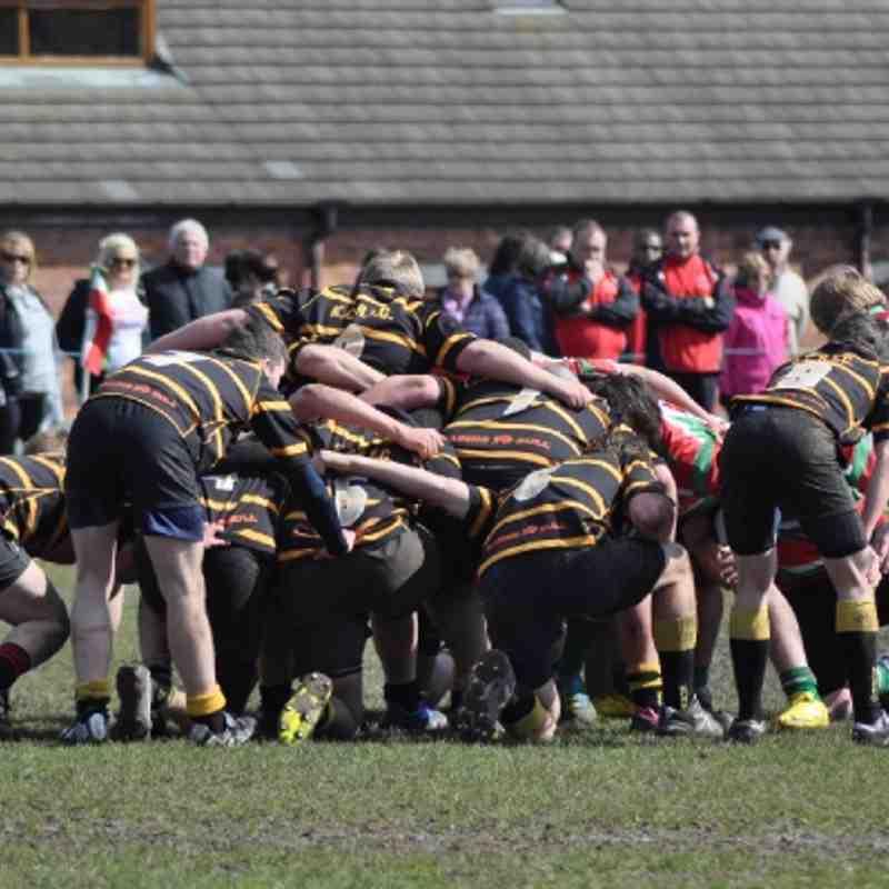 U17 v Burntwood April 2012 Away