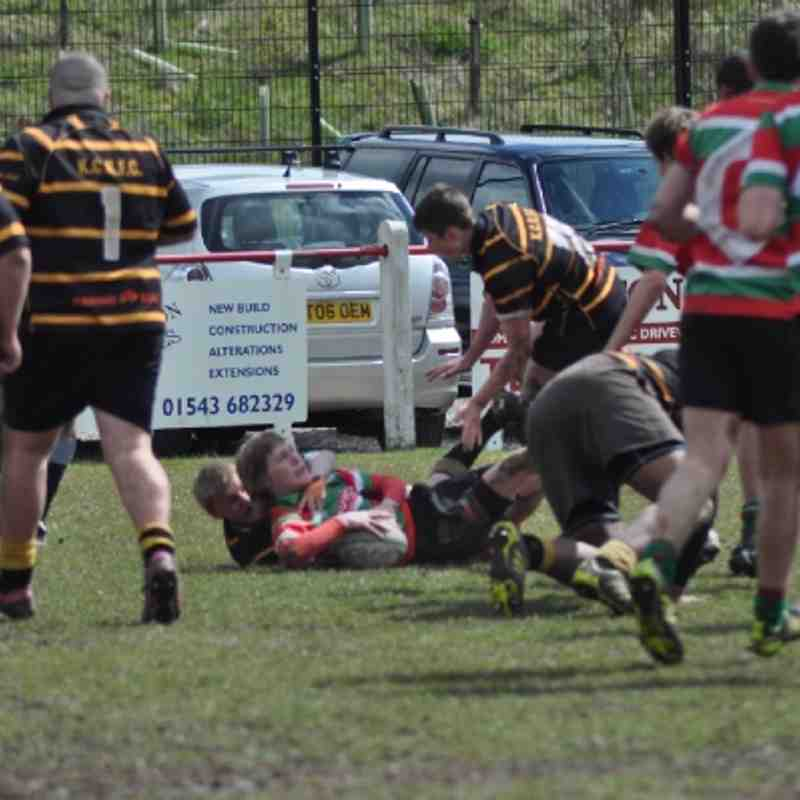 U17 v Burntwood April 2012 Away