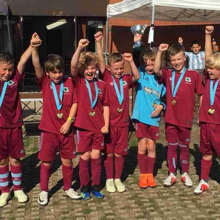 U9 Dragons WIN Tournament