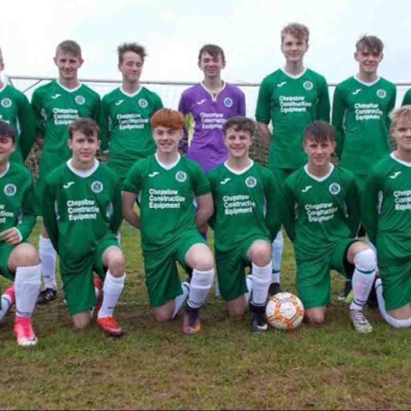 U'16's Team Photo