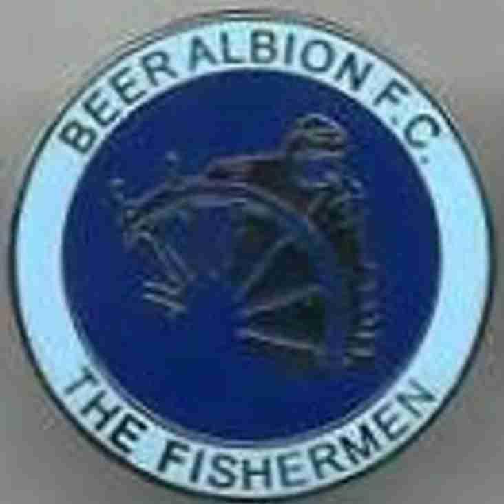 Beer Albion FC v Elmore FC