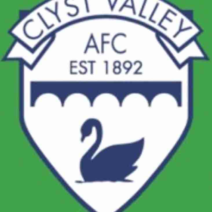 Elmore FC v Clyst Valley FC